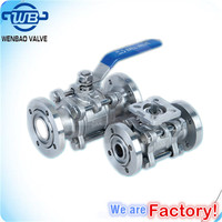 GUD High Vacuum Pressure Ball Valve