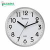 WC22005-SV OEM non-ticking quartz analog wall clock