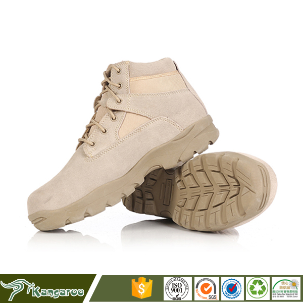 China Factory Wholesale Man Waterproof Hiking Leather Safety Shoes