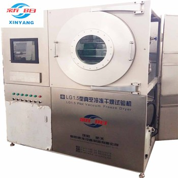 Model LG1.5 automatic Pilot freeze dryer laboratory function lyophilizer for processing research