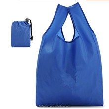 Eco Friendly wholesale foldable shopping bag in pouch