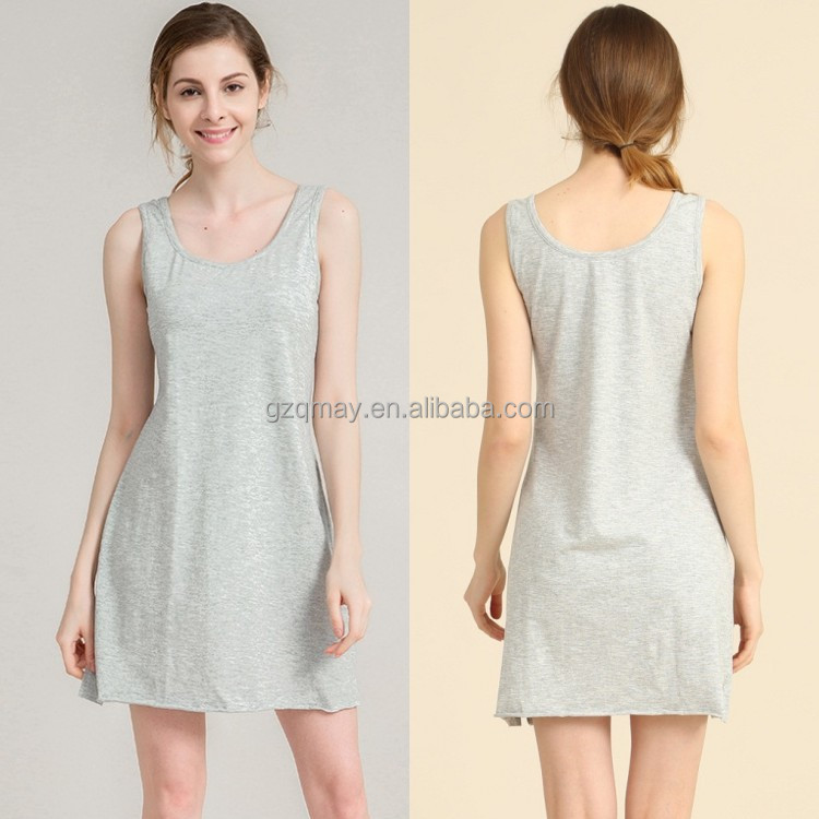 Guagnzhou Qmay OEM Summer Raw Edges Cotton Modern Sexy Short Dresses,Pictures Of Girls Without Dress Images