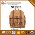Latest Vintage stone wash Canvas bags backpack Factory Guangzhou
