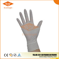 powder free latex rubber hand gloves manufacturers