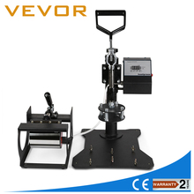 Free shipping Vevor Best Sale 8 in 1 combo heat press machine for mugs/caps/plates/T-shirt printing