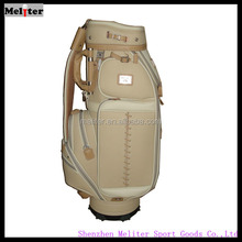 Factory direct deal with new type of custom printed golf stand bag