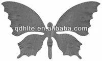 decorative wrought iron stamping butterfly