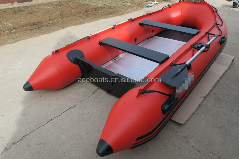 Inflatable pontoon boats asd 320 red fishing boats cheap for Inflatable pontoon boat fishing