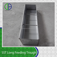 Long feeder stainless steel feeder trough feeder for pigs