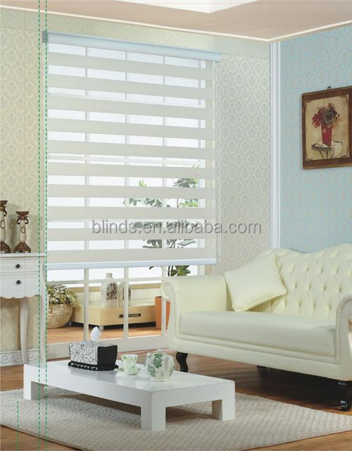 Zebra Blinds for House and Industial Window Sunshades Treatment