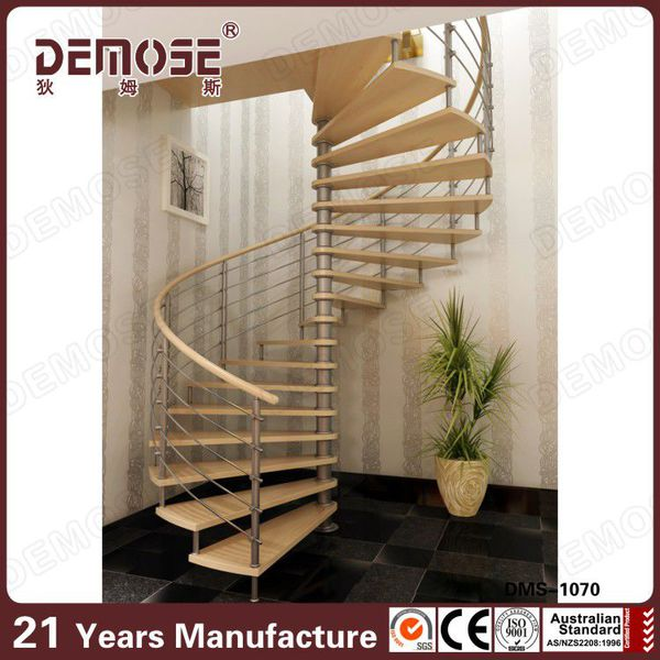 High-end aluminum exterior stairs by DEMOSE