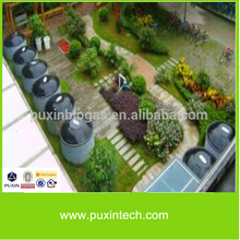 PUXIN Portable Assembly Small Biogas/Family Biogas Plant/Mini Biogas Digetster
