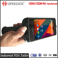 KT55 Speedat Wifi 4G Gsm Mobile Phone Scanner Barcode Android 5.1 for Smartphone with Dual Screens and Dual Cameras