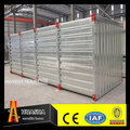 China prefabricated flat pack portable storage containers for sale