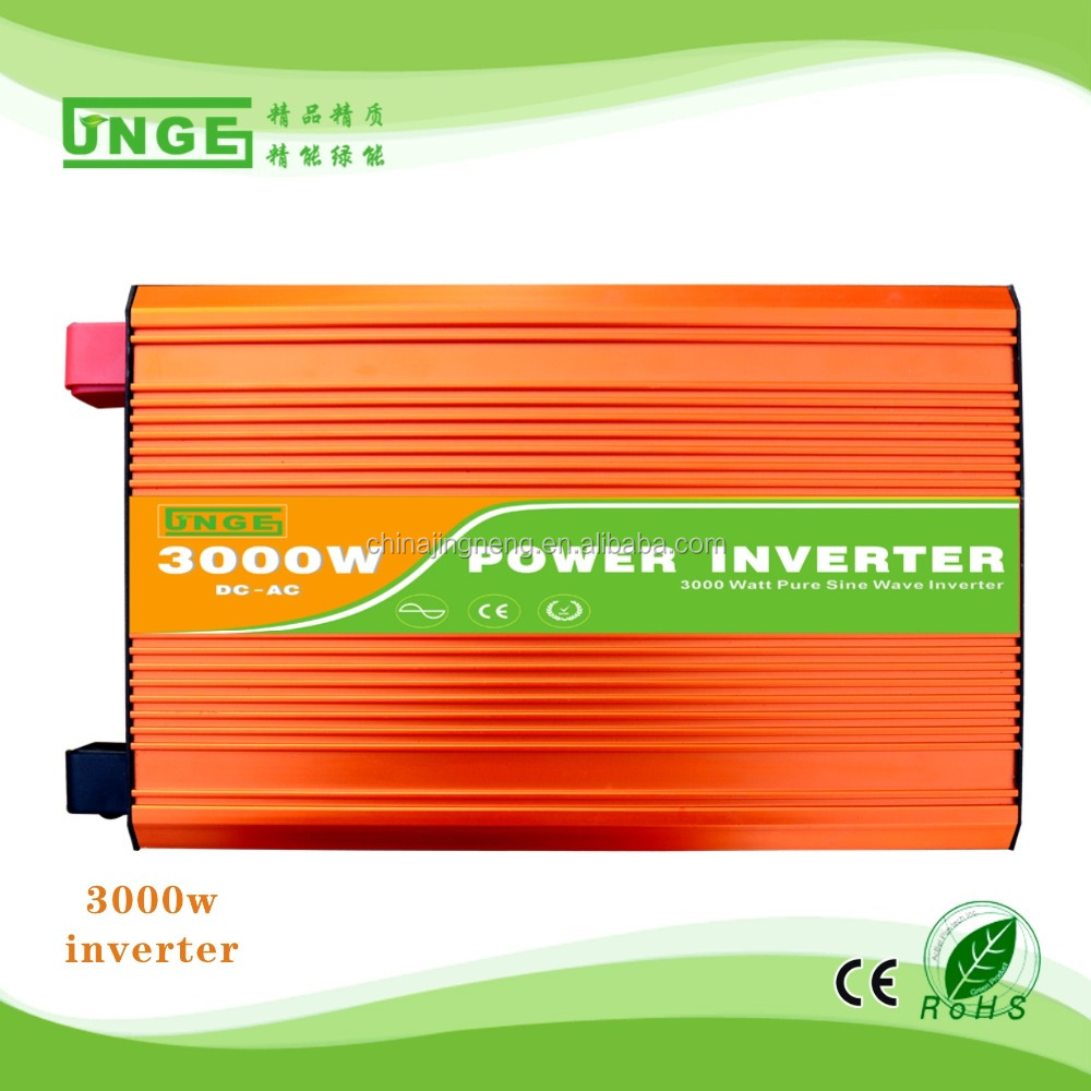 120v 240v dc to ac power inverter 3000w for solar panel system