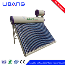 Pre-heating pressurized solar water heater brand names