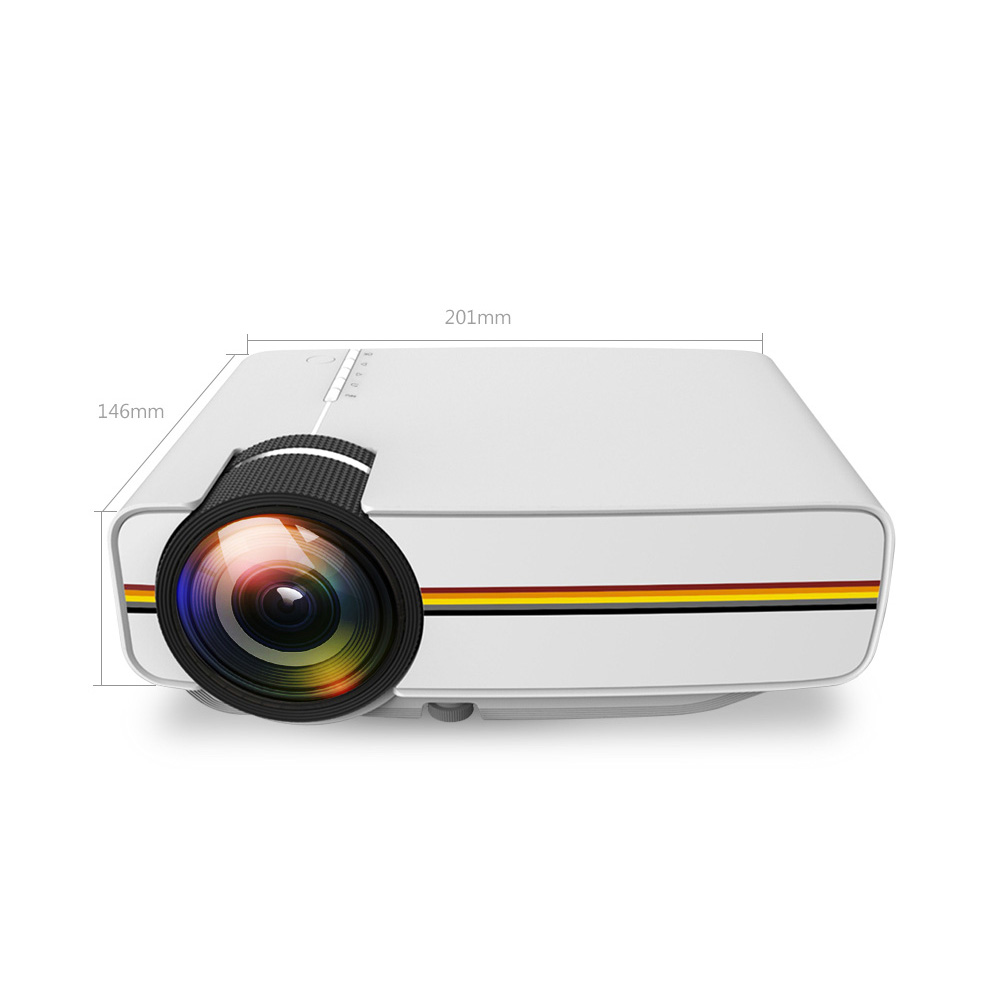 YG400 2018 Hottest projector <strong>1000</strong> lumens YG-400 LED Portable home mini theater Projector