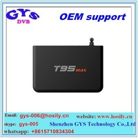 GYS Wholesles OEM/ODM model Android Smart Kodi Player S905 T95 Max 2G RAM 32G ROM TV Box has promotion price now