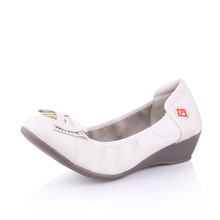 2014 new design white leather nurse and doctor shoes