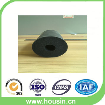 shock absorption acoustic materials fire resistant 25mm rubber foam tube