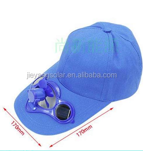 solar energy fan cap for outdoor