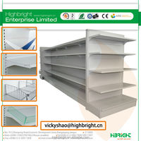 4 layer supermarket racks for convenience store equipment