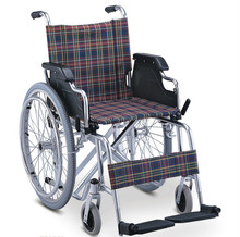 High quality manual aluminum lightweight wheelchair