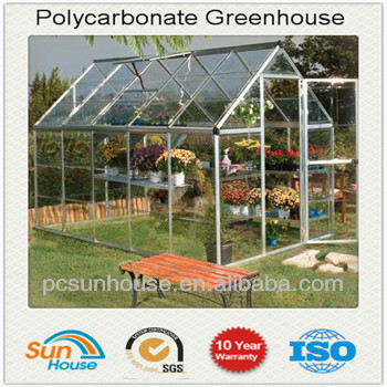 polycarbonate greenhouses price in China