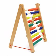 Kids educational toys wooden math learning montessori Abacus teaching equipment