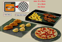 ptfe coated fiberglass mesh fabric used for cooking food