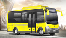 Low price 18 seats mini JAC electric bus, bus color design