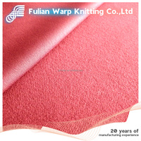 100% polyester brushed knitted fabric for baby doll,bag,cloth