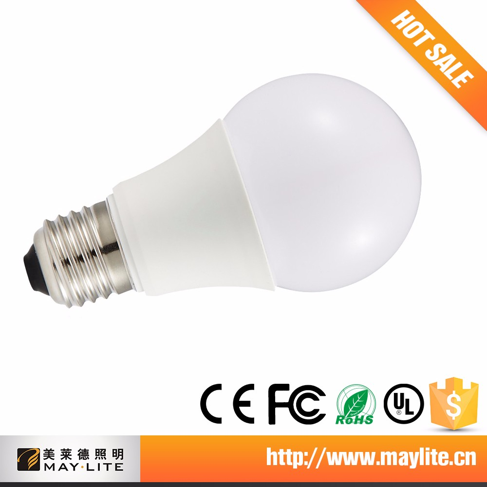 New Products CE RoHS UL Approved Round E27 Led Bulb Light 2000K-6500K