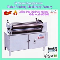 Glue Spreader & Cabinet Type Adjustable-Speed Gluing Machine which is special equipment for paper printing and packaging