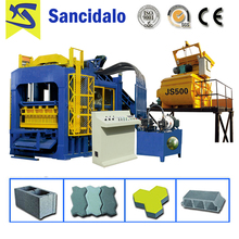 Promotional QT8-15 hydraulic concrete block making machine price in india with CE certificate