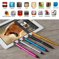 Capacitive Touch Screen Pen with USB 2.3mm Stylus Screen Drawing Pen for iPad for Smartphone