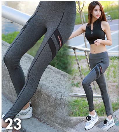 HAOXIE 2018 Wholesale fitness leggings sexy sport pants yoga Leggings tights for women