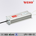 Professional manufacturer outdoor 220vac Single output dc 12v power supply 100w power supply for led