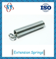 Free samples/ steel high extension spring with hook