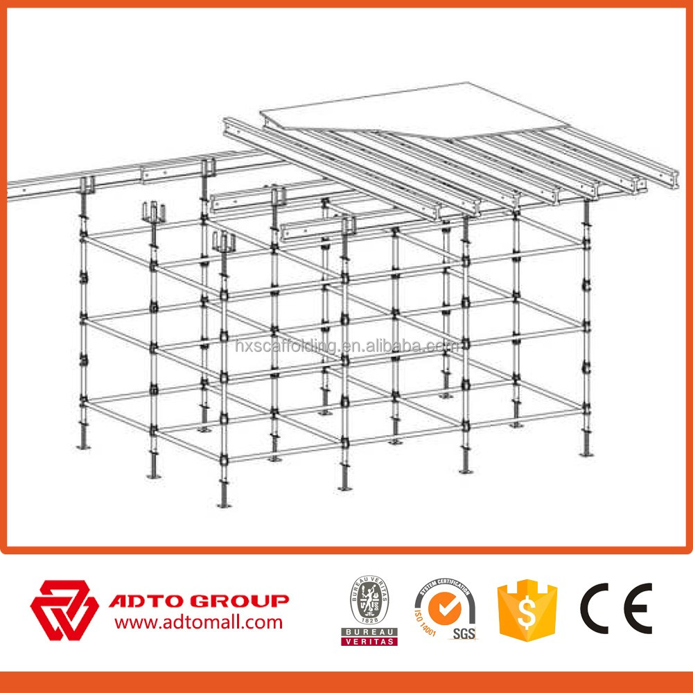 metal scaffolding for Cuplock System Scaffolding industrial sewing machine jack /plank