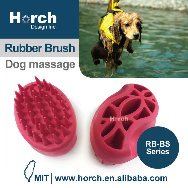 Www.alibaba.com pet quality grooming brush new product rubber brush
