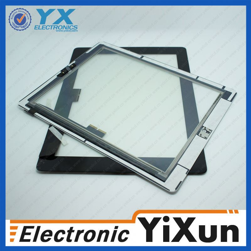 With factory wholesale High quality for apple ipad 3 touch screen digitizer Paypal is accept