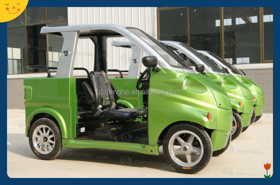 fully covered electric car for handicapped people EEC approved