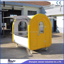 JX-FR220E movable coffee shop container Hot Seller Mobile Outdoor Food Kiosk