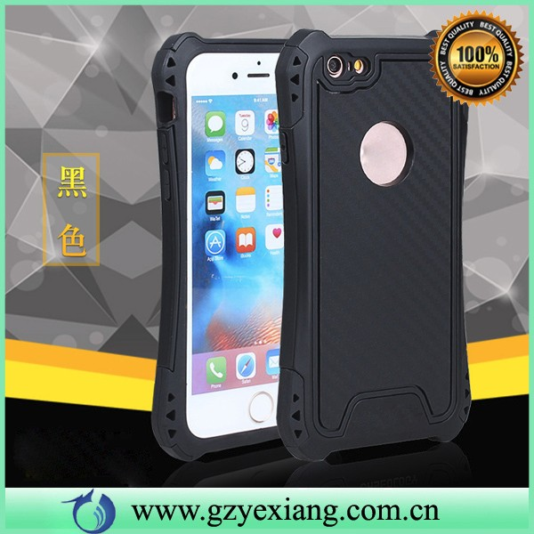 new arrival carbon fiber shockproof cover case for iphone 4 hard back cover case for apple iphone 4s