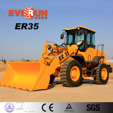 Everun Brand CE Approved ER35 Small Wheel Loader With Easy-damaged Spare Parts For Sale