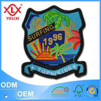 Polyester fabric clothing patch label
