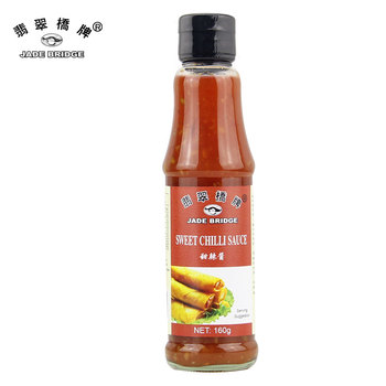 Delicious halal hot sweet chili sauce jar bottle 160g
