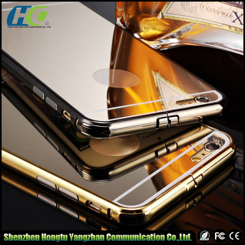 11.11 Global Sourcing Festival 10%off Aluminium mirror mobile phone case for iphone 6s/mirror back cover case for iphone 6/6s
