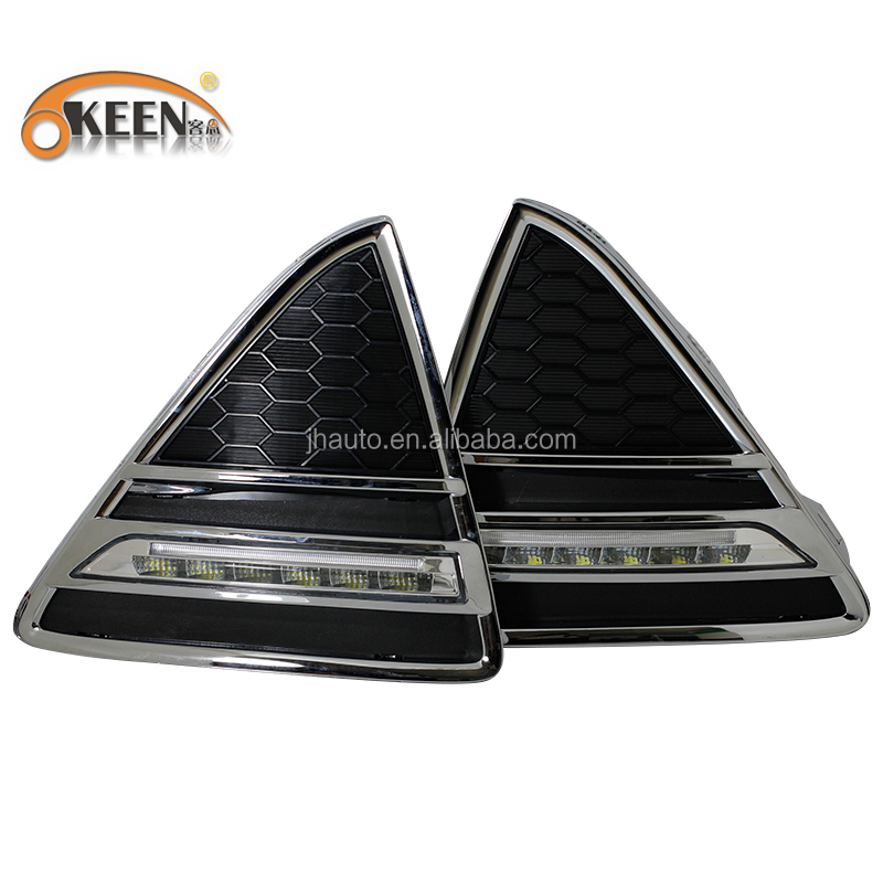 Hot Sale 2012 Year for Ford Focus Led Car DRL Daytime Running Lights 12V Waterproof